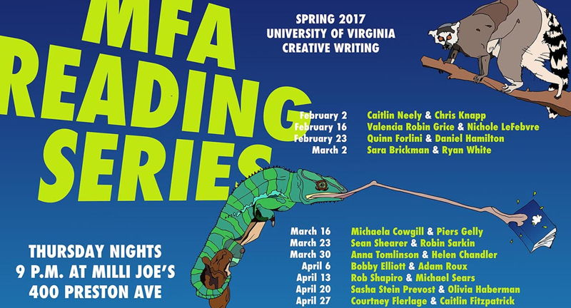 MFA Reading Series: Courtney Flerlage & Caitlin Fitzpatrick