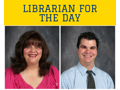MRS. FISHMAN & MR. MATTERN:  Librarian for the Day