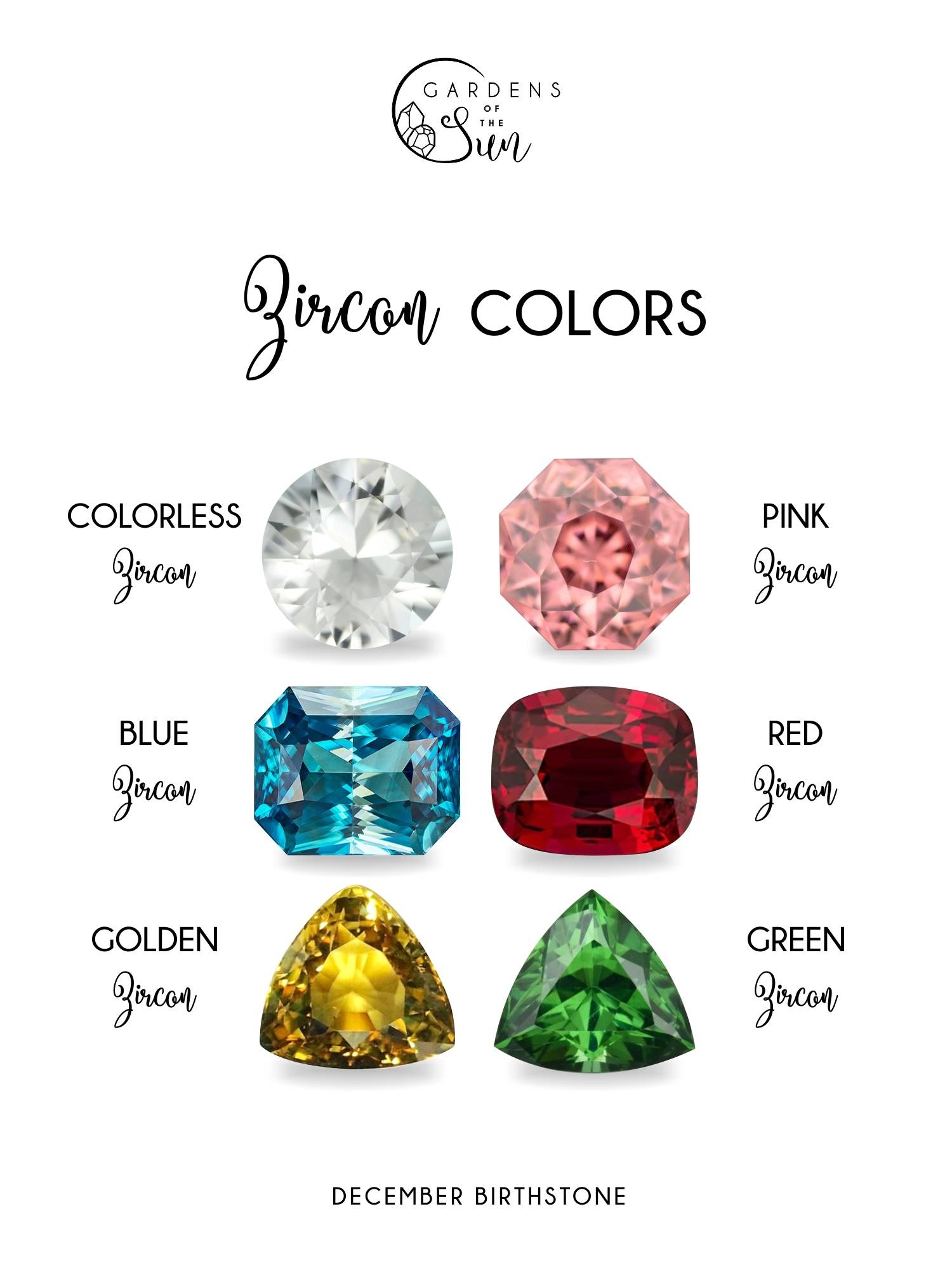 Zircon colors