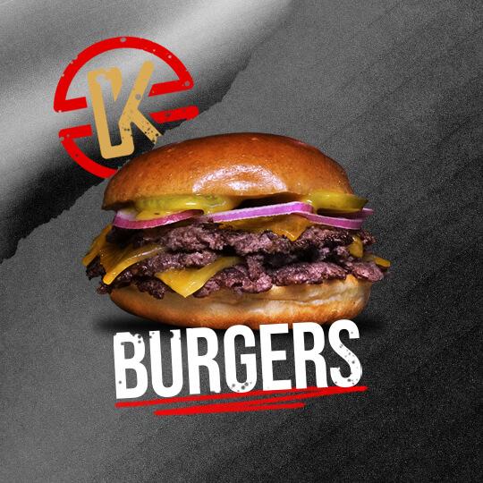 Un bon burger dans votre menu ? Choissisez votre burger avec des frites et une boisson.
