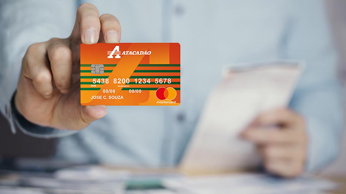 Limite de crédito do cartão Atacadão