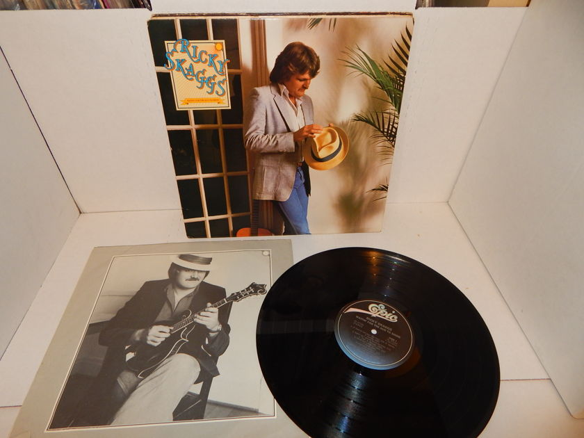 RICKY SKAGGS Waitin' For The Sun To Shine - Jerry Douglas Dobro Masterfonics NM LP