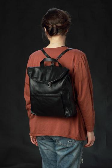 Кожаный рюкзак трансформер - POLARIS - Real leather backpack