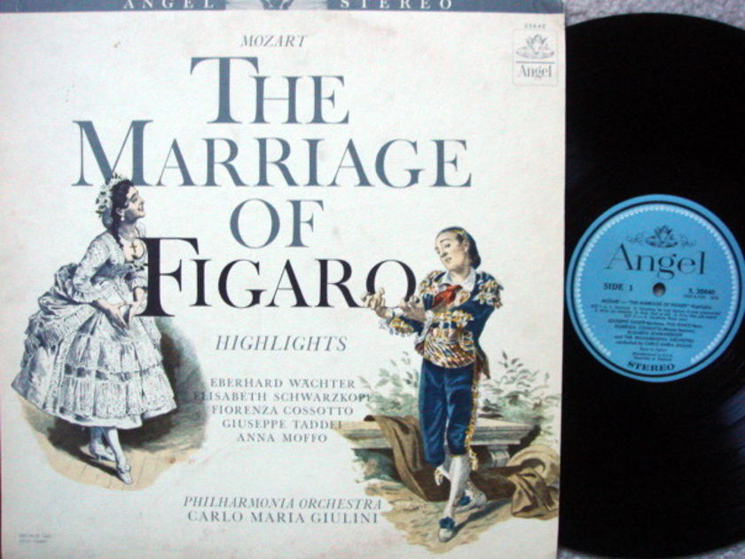 EMI Angel Blue / GIULINI, - Mozart Marriage of Figaro Highlights, MINT!