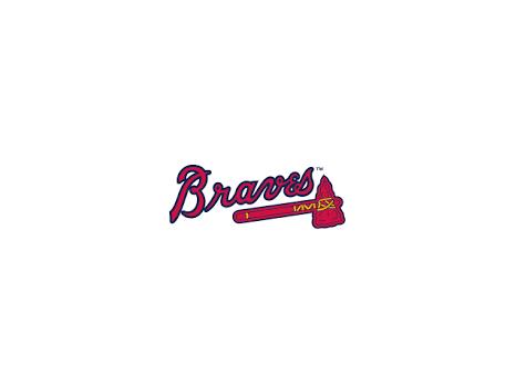 Jace Peterson Signed Braves Bat