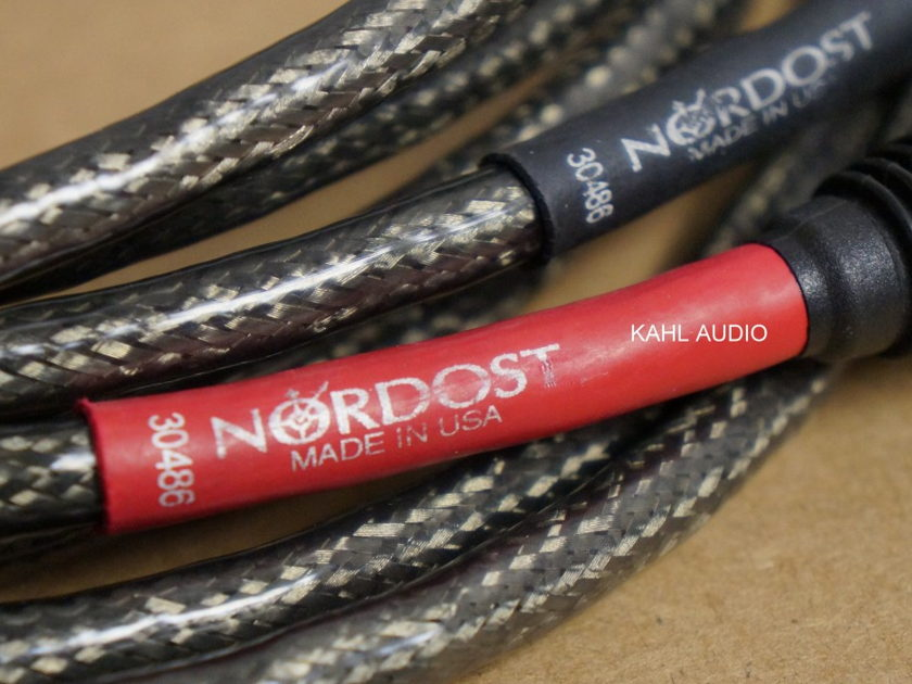 Nordost Tyr interconnect cables, 2M XLR pair. $2,640 MSRP