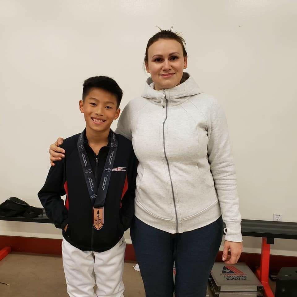 Coach Olga w Medalist