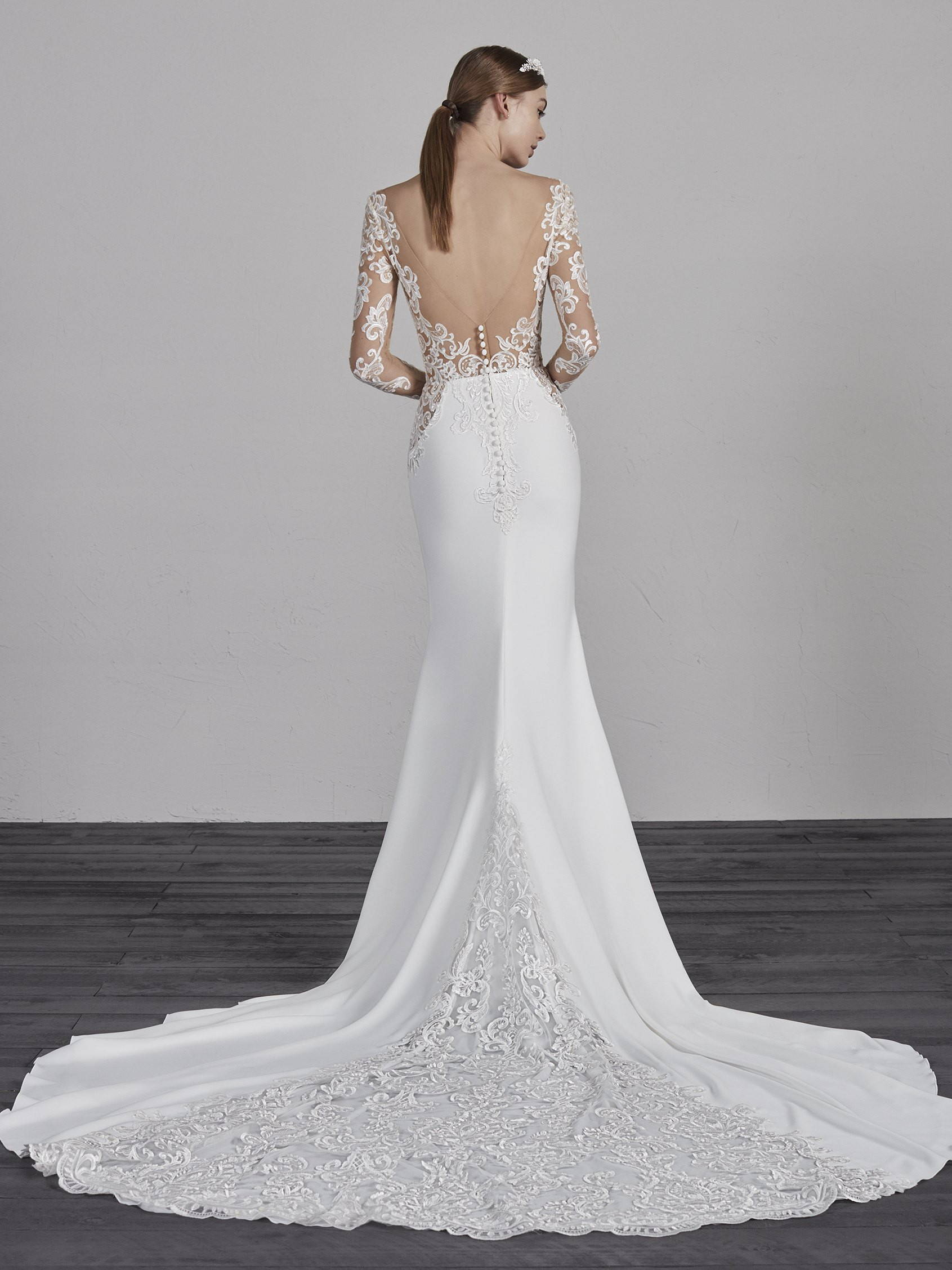 PRONOVIAS enelsa DRESS