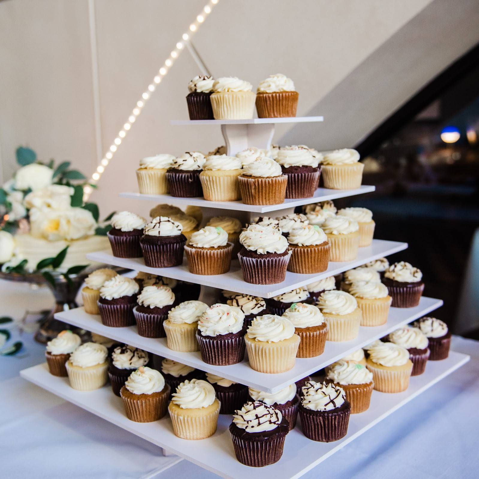 Wedding Cupcake Arrangement