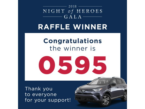 Car Raffle Ticket - Win a 2018 Toyota RAV-4