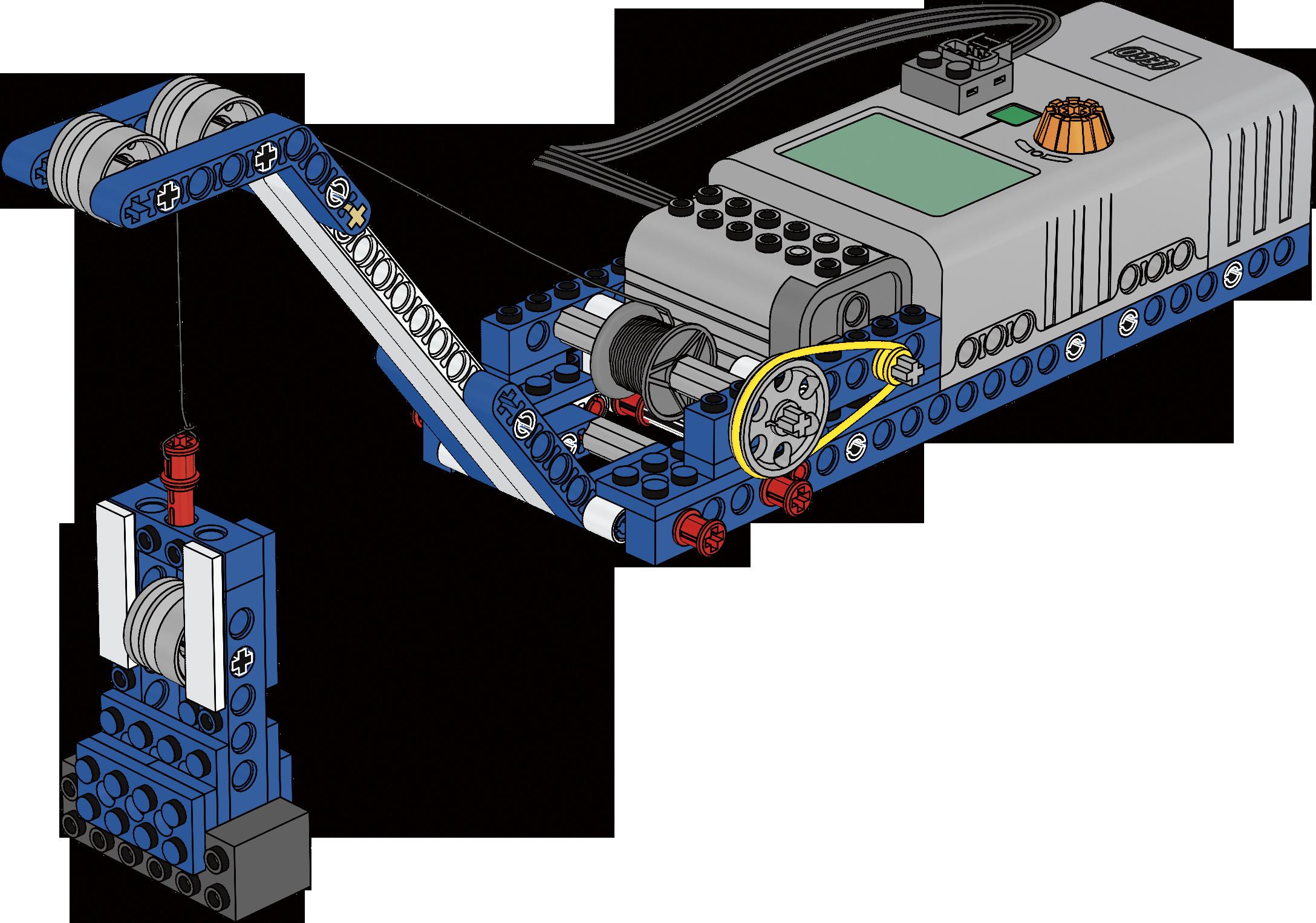 LEGO Pulleys