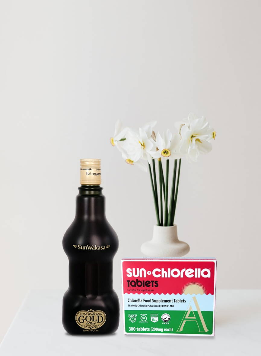 Sun Chlorella and Sun Wakasa Gold Plus Rejuvenate bundle