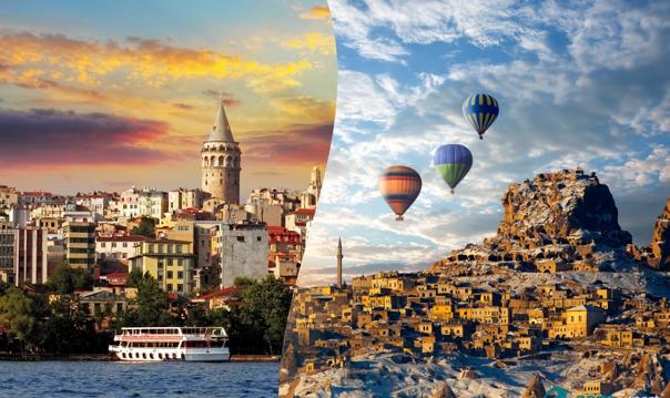 Экскурсия в Стамбул и Каппадокию (2 дня)