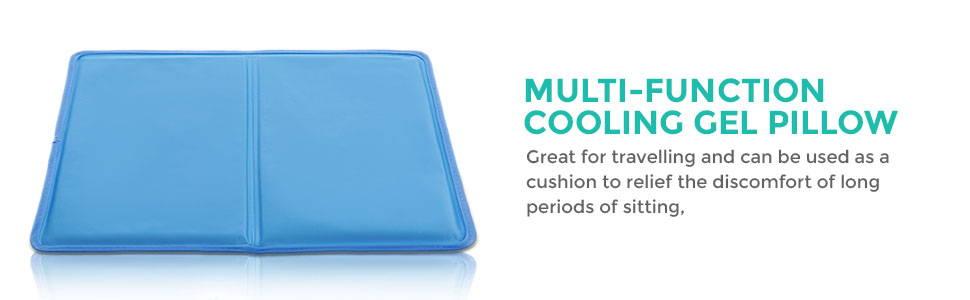 Multi-function Cool Gel Pillow