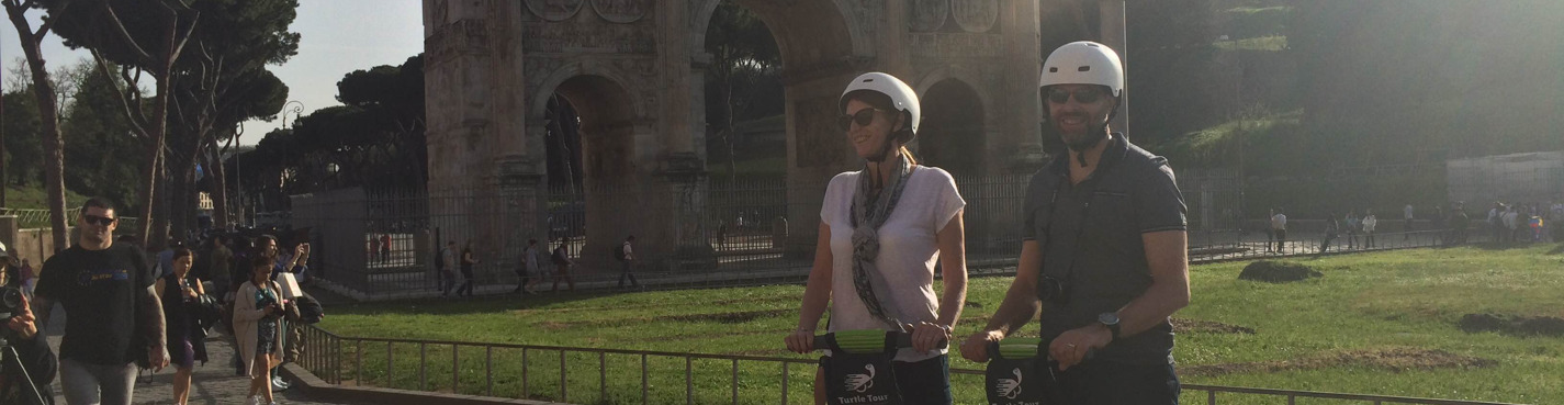 Великолепие Рима - Дневной 4х часовой сегвей тур