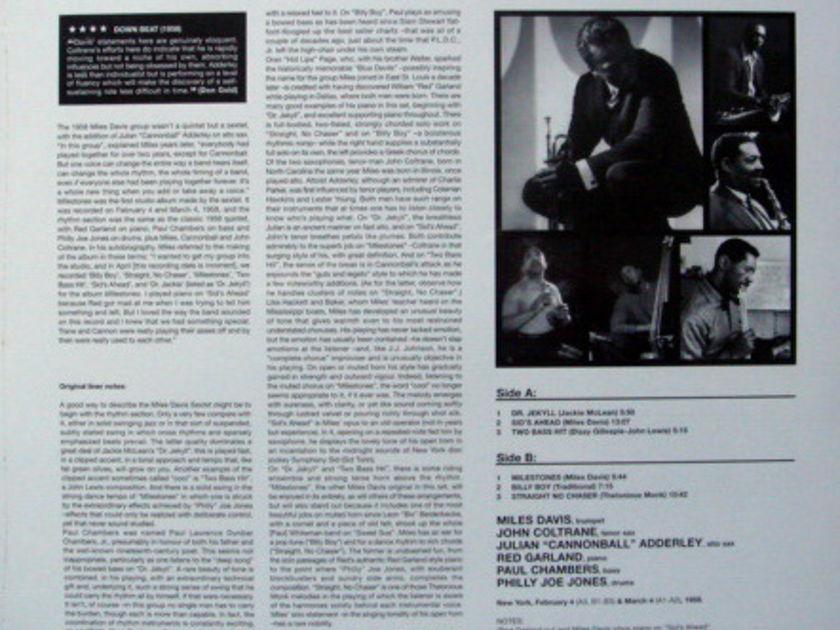 ★Sealed Audiophile 180g★ 52nd Street Records / - MILES DAVIS, Milestones!