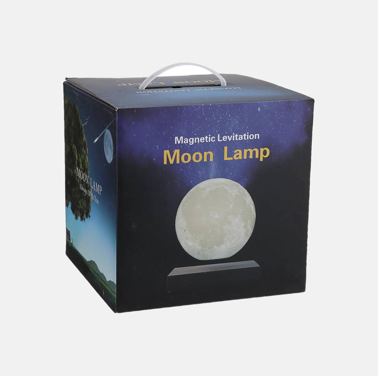 Moon Lamp Bundle, Floating 3D Moon Lamp, Magnetic Levitating Moon Lamp, Cool Moon Lamps