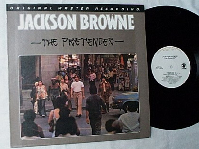 Jackson Browne LP-The pretender- - MFSL album-mint vinyl-made in Japan