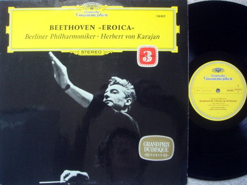 DG / KARAJAN-BPO, - Beethoven Symphony No.3 Eroica, MINT!
