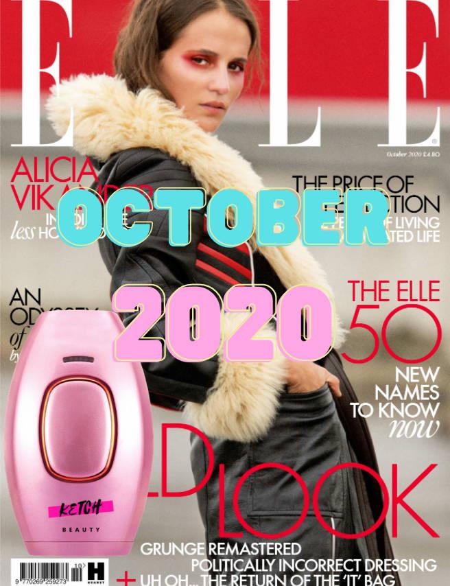 KetchBeauty Elle Magazine
