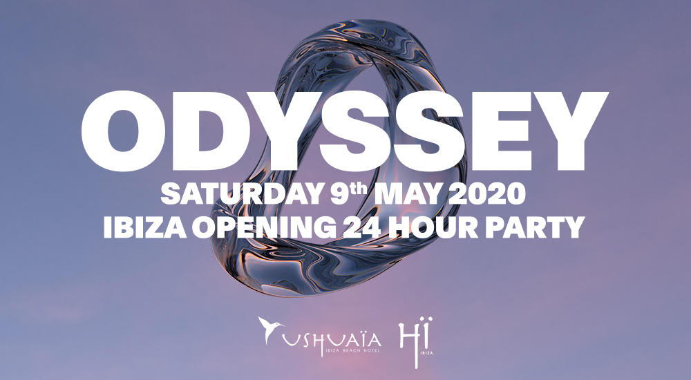 Ushuaia opening party 2020 fiesta Odyssey