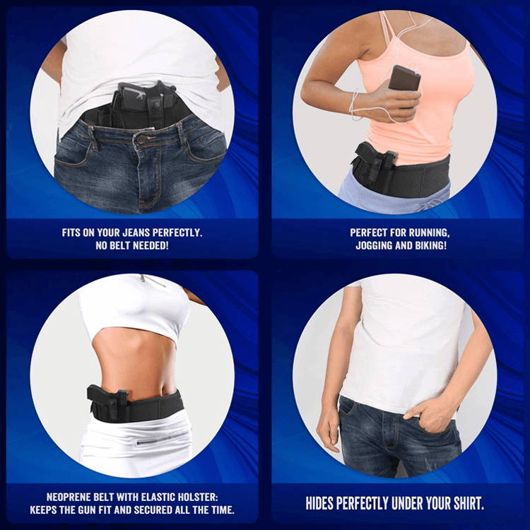 Different ways to wear buck it belly band holster, holsters for women