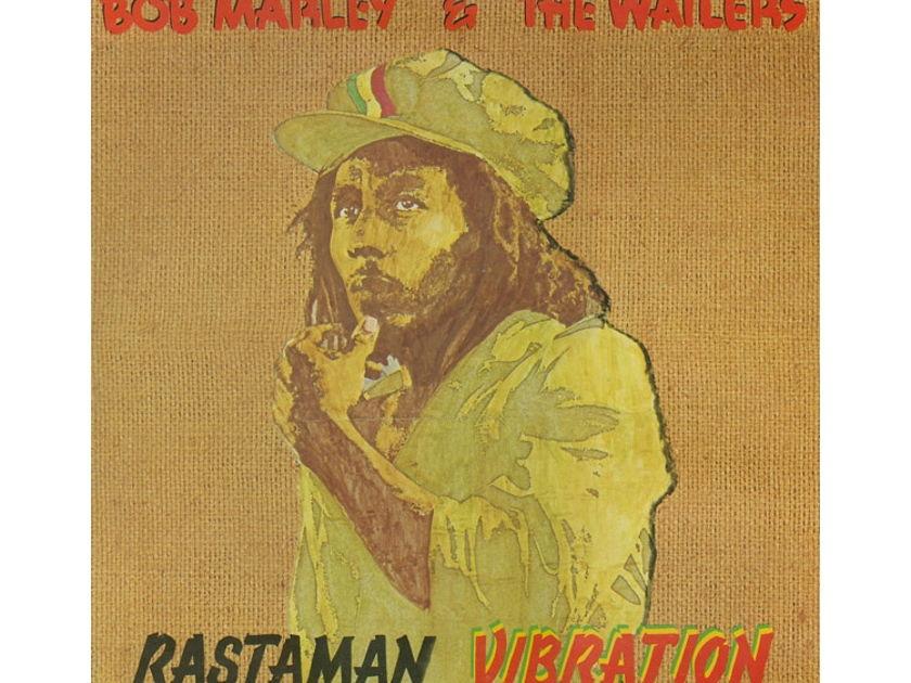 Bob Marley   - Rastaman Vibration Import Vinyl LP