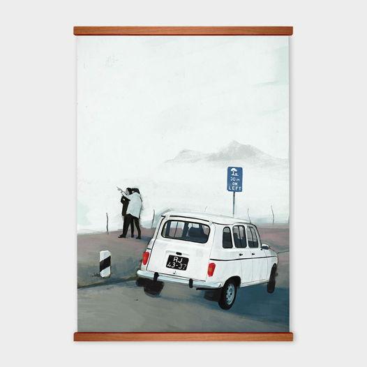 Постер «30 m on Left» от Oh So Me (серия Home)