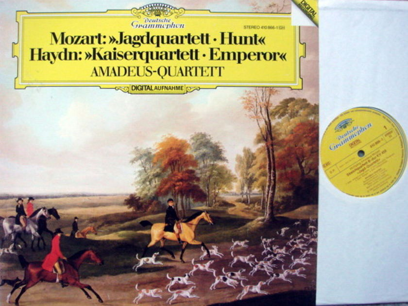 DG Digital / AMADEUS QT, - Mozart-Haydn String Quartets, NM!