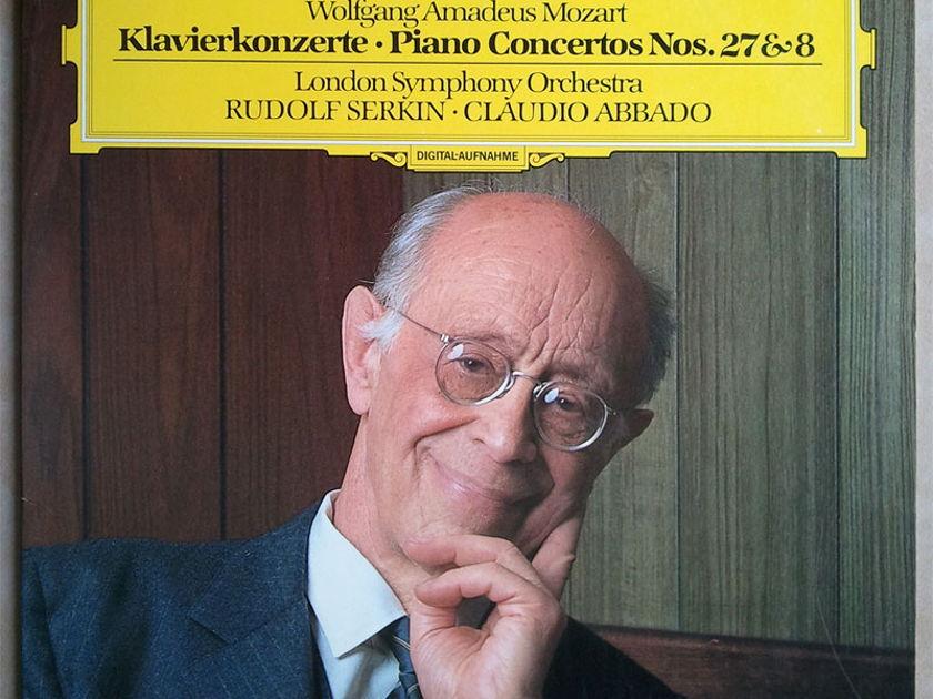 DG Digital/Serkin/Abbado/Mozart - Piano Concertos Nos. 27 & 28 / NM