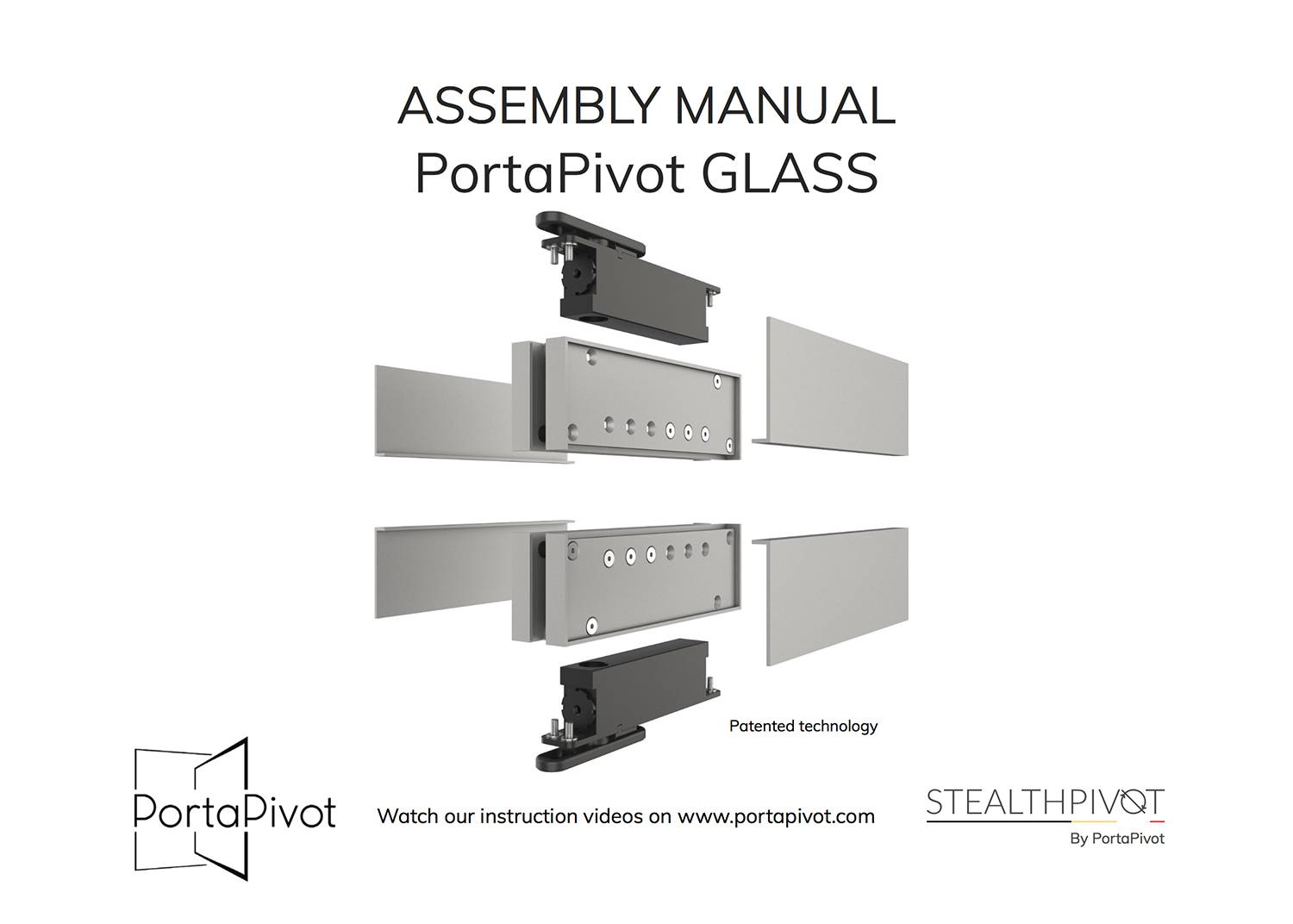 Portapivot Glass NL assembly manual