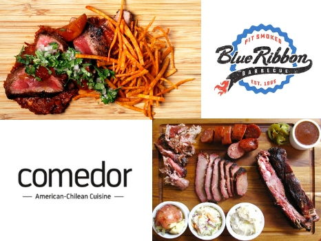 Newton Meat Lovers Package: $50 to Comedor American-Chilean Restaurant & $25 to Blue Ribbon Barbecue