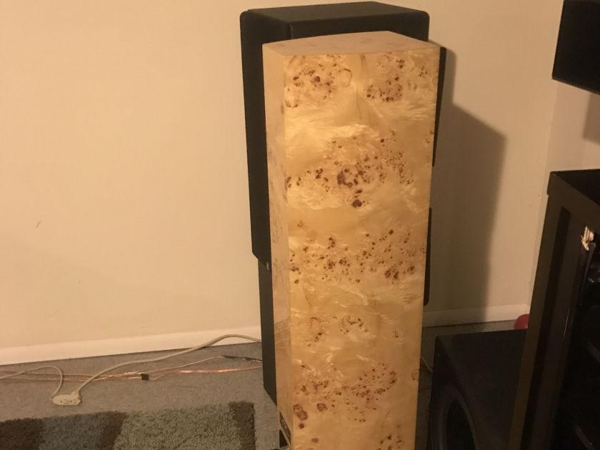 Acoustic Zen Technologies Adagio Maple burle finish