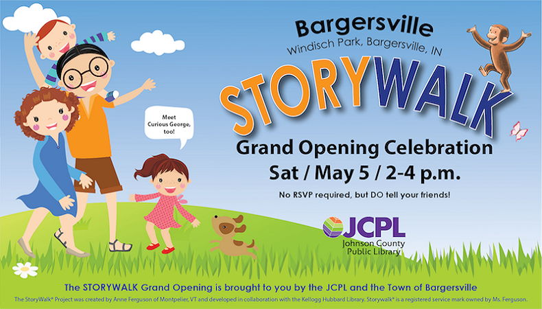at the Grand Opening of our New StoryWalk