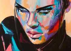 Modern Lady Painting