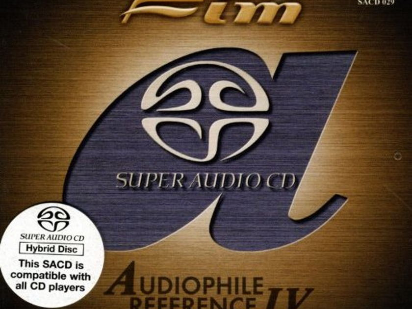 Audiophile Reference IV - Super Audio CD  First Impression