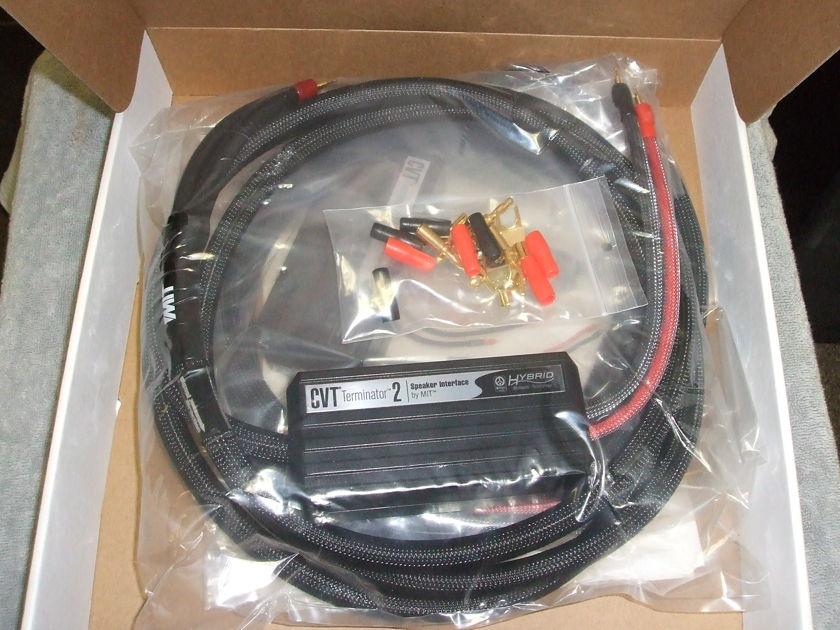 MIT CVT Terminator 2 speaker cables 10ft pair