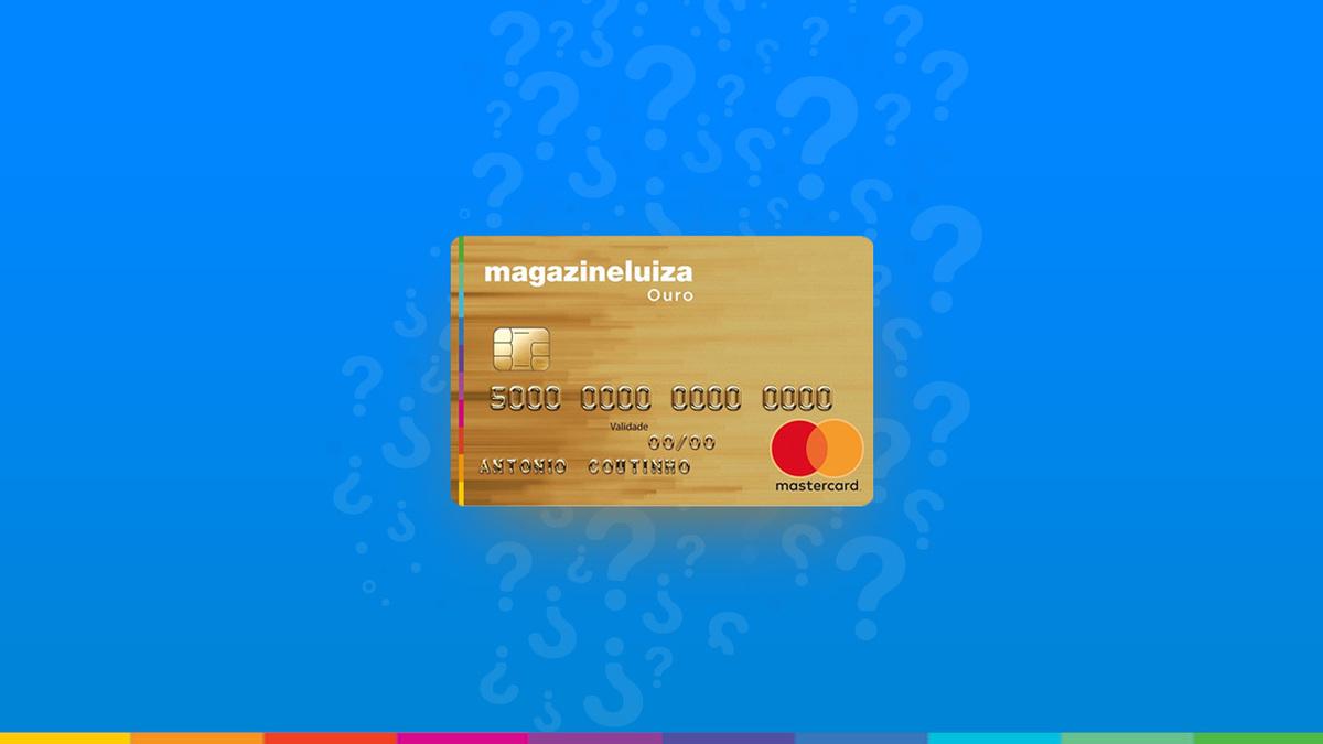 Magazine Luiza Ouro MasterCard