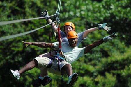 1/2 Day Zipline and Nature Tour