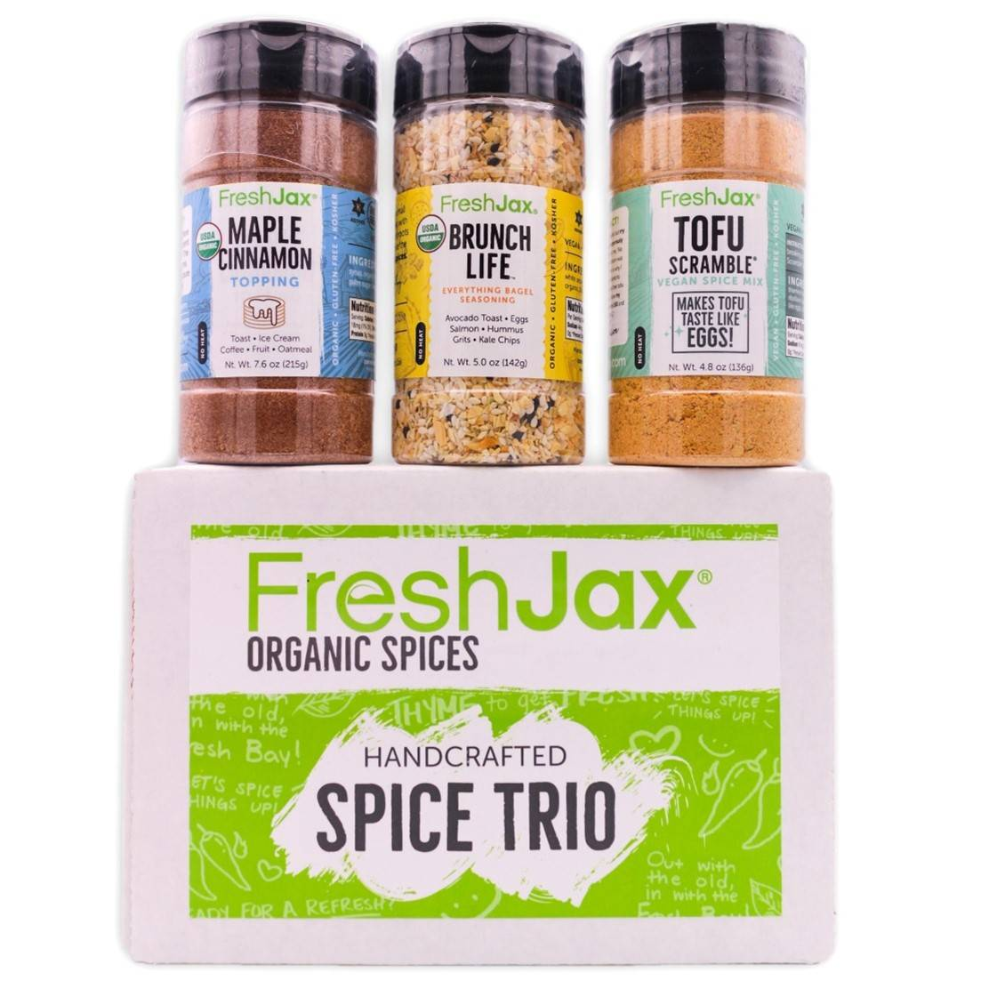 Organic Vegan Brunch Seasonings Set
