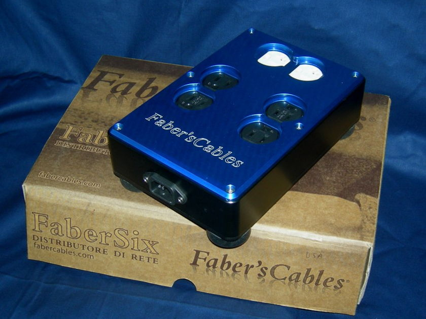 Faber's Cables' Faber Six High End Power Distributor