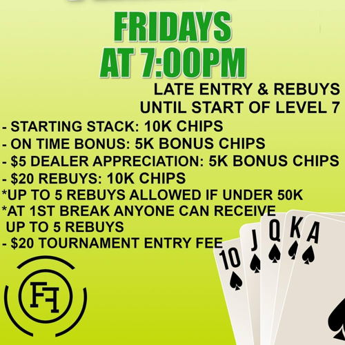 Picture of Freeroll Friday NLH Tournament $2,000 Guaranteed