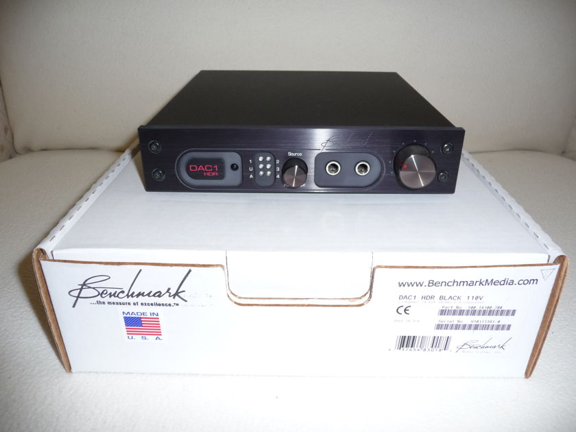 Benchmark Media Systems Dac1 HDR Black