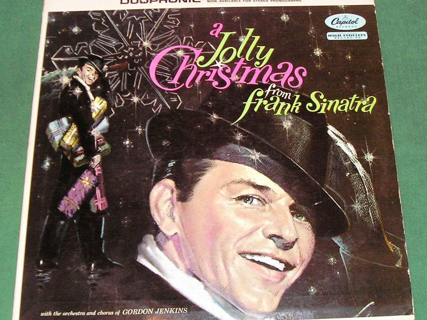FRANK SINITRA - A JOLLY CHRISTMAS - * 1958 CAPITOL DUOPHONIC PRESS * NM 9/10