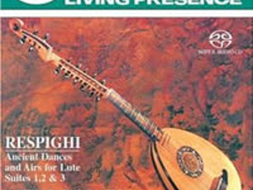 Respighi: Ancient Airs and Dances - Dorati - Philharmonia Hungarica RARE OOP SACD Mercury Living Presence
