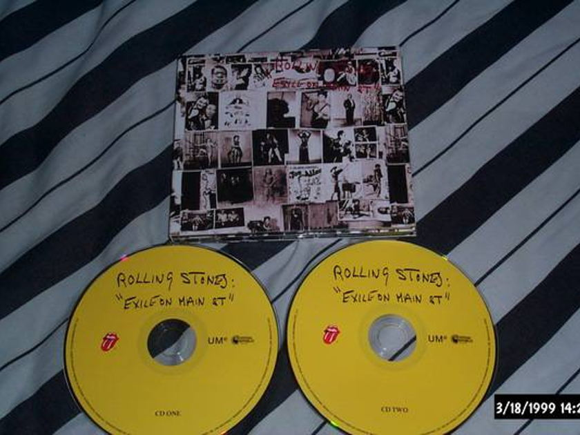 Rolling Stones - Exile On Main Street 2 cd deluxe edition