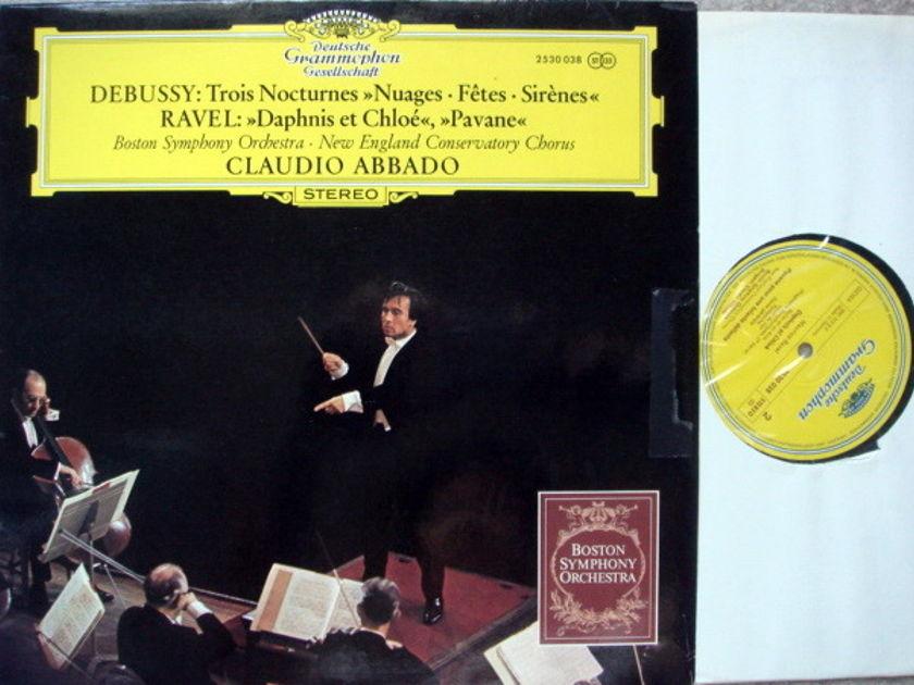 DGG / ABBADO-BSO, - Debussy Trois Nocturnes, NM!