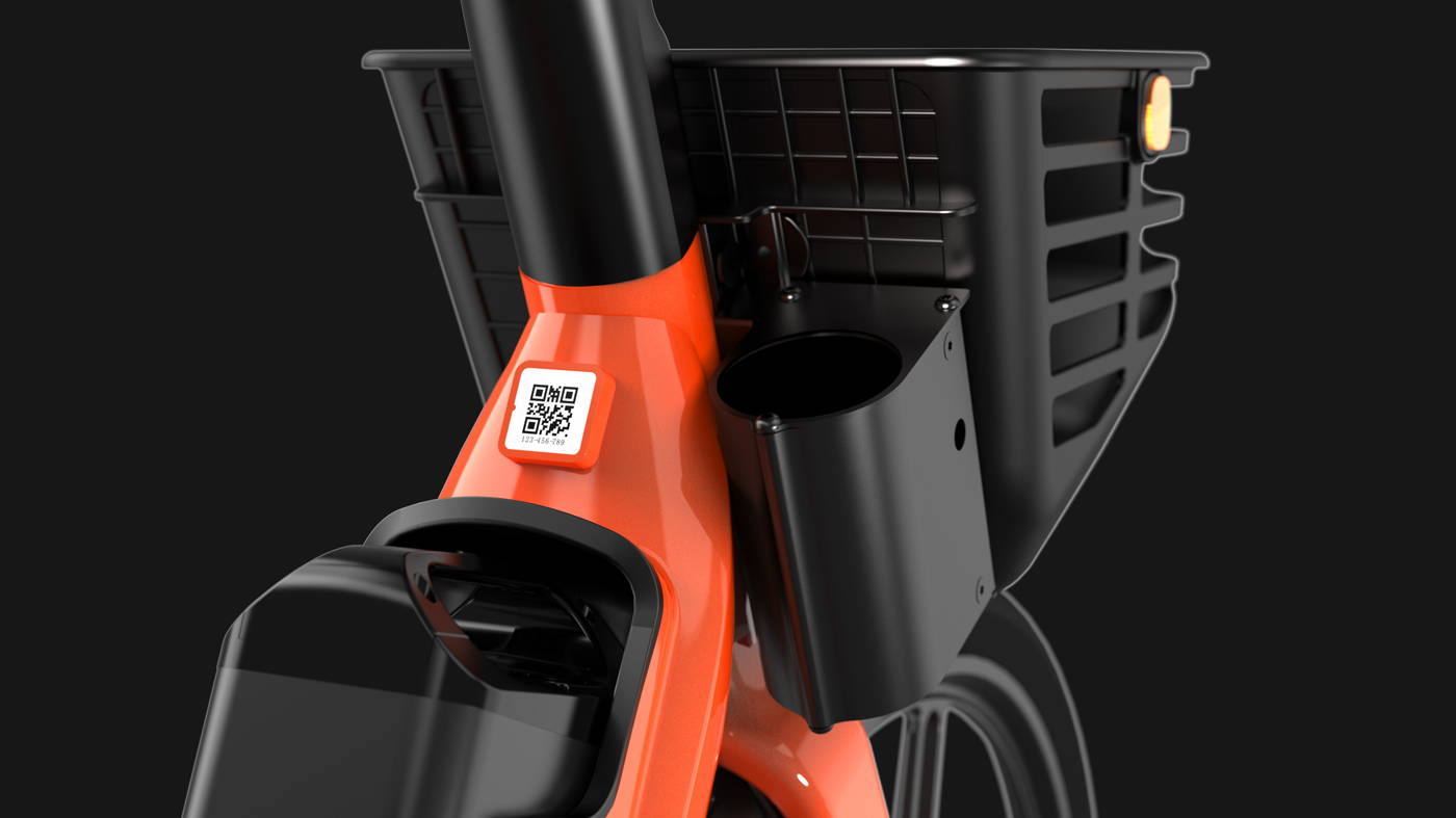 Okai Micromobility Manufacturer, EB100 Electric Bike Lock System