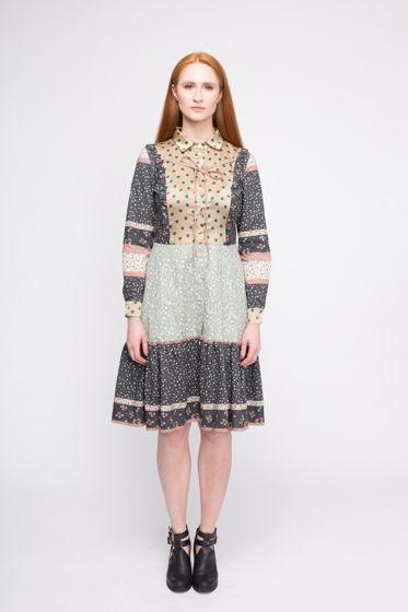 Платье Кинга из натуральных тканей