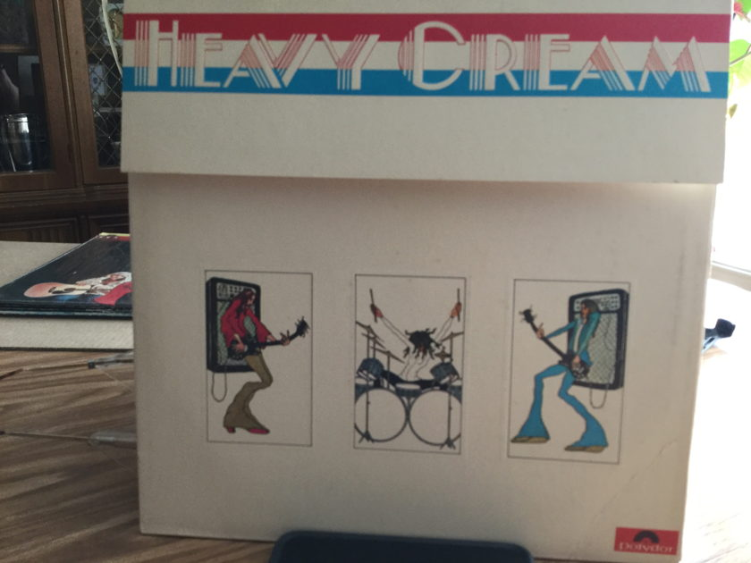 CREAM - HEAVY CREAM 2 Record set